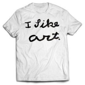 e6967397b I Like Art T-Shirt – We Are Lions