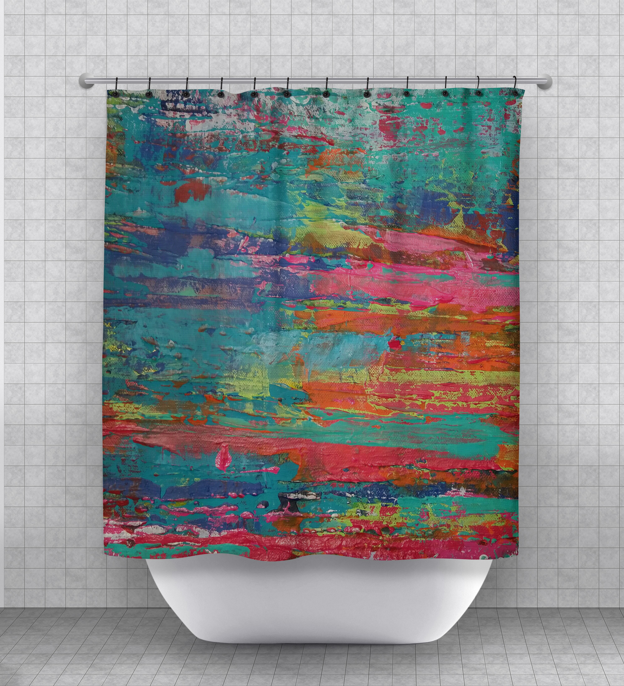 Crazy Beautiful Shower Curtain